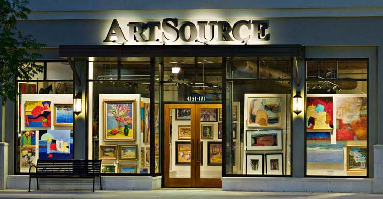 ArtSource Fine Art Gallery in Raleigh NC